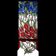 Glaskunst – Tricolore – Peter Kuster -Glasmalerei-Bleiverglasung-Glaskunst
